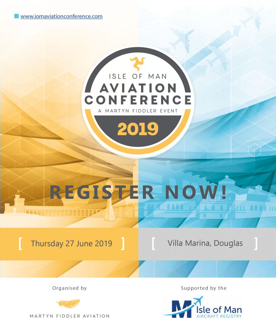Register now for the 2019 Isle of Man Aviation Conference
